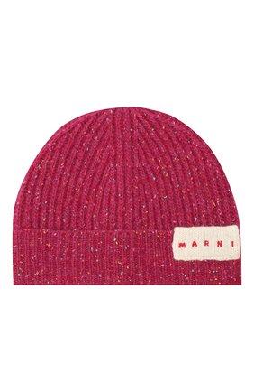 Детского шерстяная шапка MARNI розового цвета, арт. M002ST-M00I9 | Фото 1