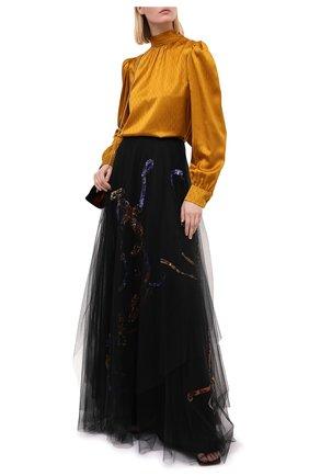 Женская юбка RALPH LAUREN черного цвета, арт. 290823230 | Фото 2