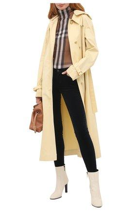 Женские брюки 7 FOR ALL MANKIND синего цвета, арт. JSWTV650GV | Фото 2