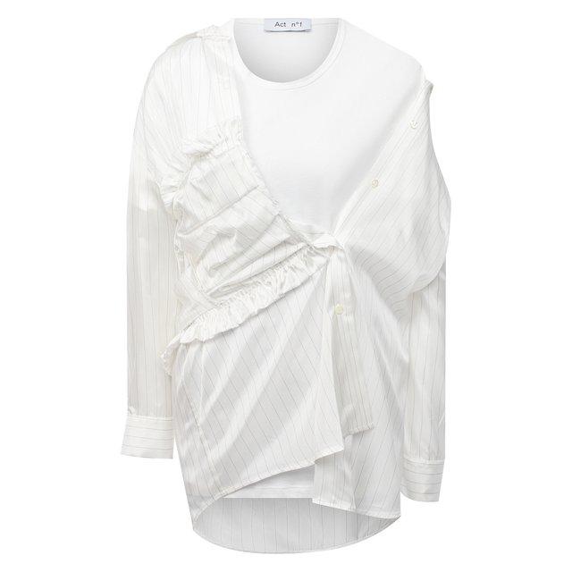 Рубашка из вискозы Act n1