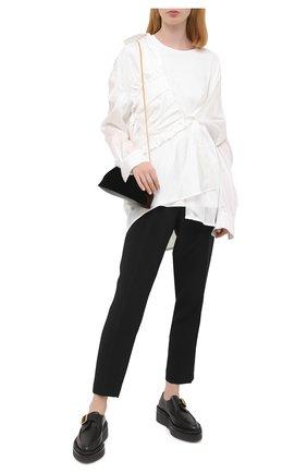 Женская рубашка из вискозы ACT N1 белого цвета, арт. PFT2010 | Фото 2