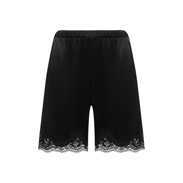 Шорты из шелка и хлопка Dolce & Gabbana