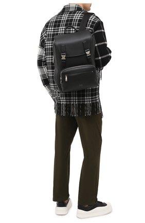 Мужской кожаный рюкзак palermo DOLCE & GABBANA черного цвета, арт. BM1844/AZ319 | Фото 2
