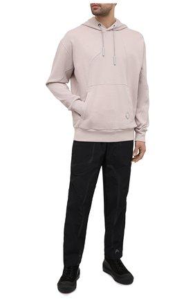 Мужской хлопковое худи A-COLD-WALL* бежевого цвета, арт. ACWMW024E   Фото 2