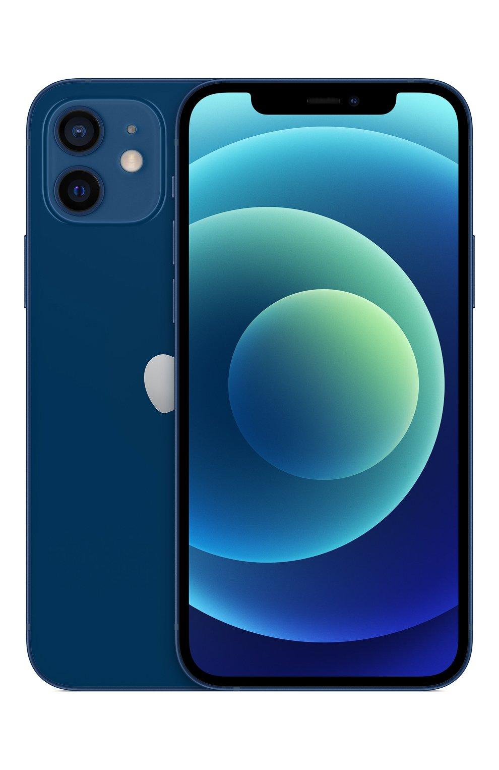Мужские iphone 12 128gb blue APPLE  blue цвета, арт. MGJE3RU/A | Фото 1