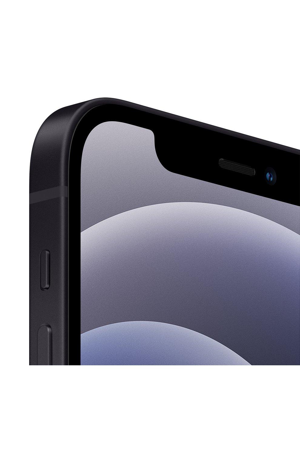 Мужские iphone 12 128gb black APPLE  black цвета, арт. MGJA3RU/A   Фото 2