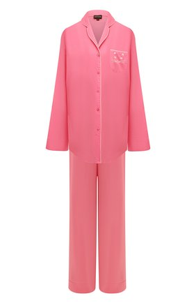 Женская хлопковая пижама NATAYAKIM розового цвета, арт. NY-025BW | Фото 1