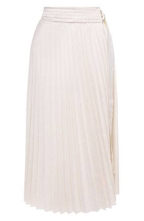 Женская юбка MONCLER белого цвета, арт. F2-093-2D718-10-C0382 | Фото 1