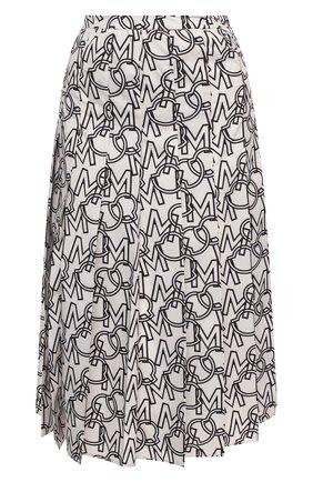 Женская юбка MONCLER черно-белого цвета, арт. F2-093-2D712-00-54AQP   Фото 1