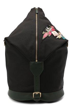 Женский рюкзак ULYANA SERGEENKO черного цвета, арт. BRS051CLASSX 0362с | Фото 1