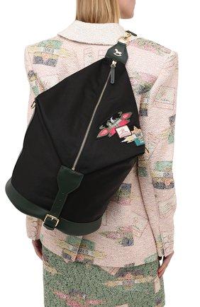 Женский рюкзак ULYANA SERGEENKO черного цвета, арт. BRS051CLASSX 0362с | Фото 2