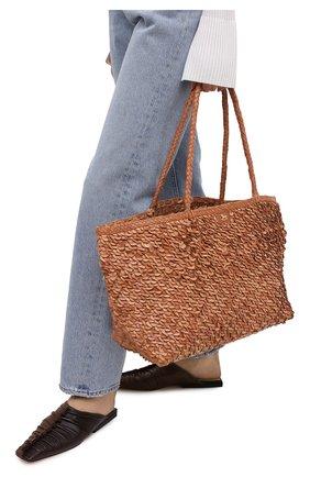 Женский сумка ULYANA SERGEENKO коричневого цвета, арт. BRS054CLASSX 0361с | Фото 2