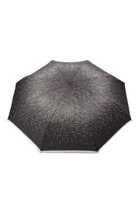 Женский складной зонт DOPPLER черно-белого цвета, арт. 744865P01 | Фото 1