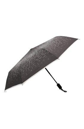 Женский складной зонт DOPPLER черно-белого цвета, арт. 744865P01 | Фото 2