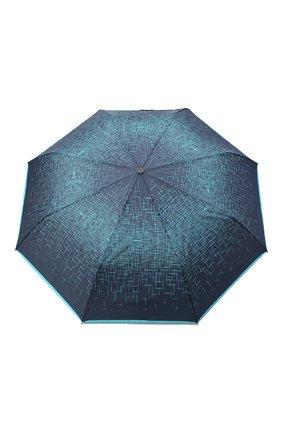 Женский складной зонт DOPPLER синего цвета, арт. 744865P03 | Фото 1