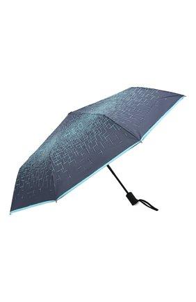 Женский складной зонт DOPPLER синего цвета, арт. 744865P03 | Фото 2