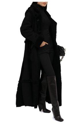 Женская дубленка TOM FORD черного цвета, арт. CPF693-FUX143 | Фото 2