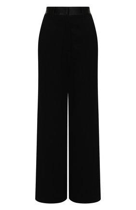 Женские брюки из хлопка и шерсти ANN DEMEULEMEESTER черного цвета, арт. 2002-1416-P-165-099 | Фото 1