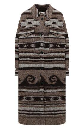 Женское пальто ISABEL MARANT ETOILE бежевого цвета, арт. MA0572-20A064E/GABRI0N | Фото 1