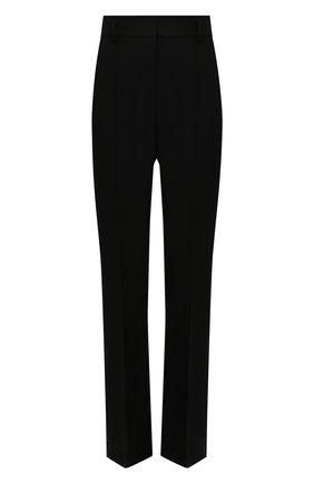 Женские брюки из шелка и шерсти PETAR PETROV черного цвета, арт. HARSH F20H8 | Фото 1