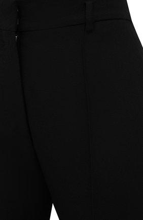 Женские брюки из шелка и шерсти PETAR PETROV черного цвета, арт. HARSH F20H8   Фото 5