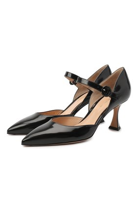 Кожаные туфли Triangle | Фото №1