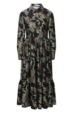 Женское платье VIVETTA хаки цвета, арт. 20I V2M0/H152/5A62 | Фото 1
