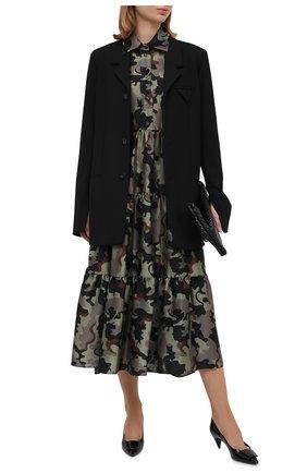 Женское платье VIVETTA хаки цвета, арт. 20I V2M0/H152/5A62 | Фото 2