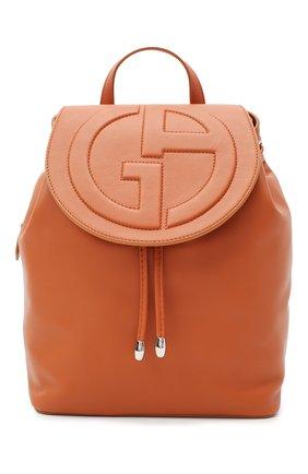 Женский рюкзак GIORGIO ARMANI коричневого цвета, арт. Y1L012/YSV4E | Фото 1