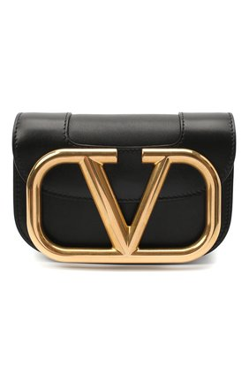 Женская сумка valentino garavani supervee VALENTINO черного цвета, арт. UW0B0G45/ZXL | Фото 1