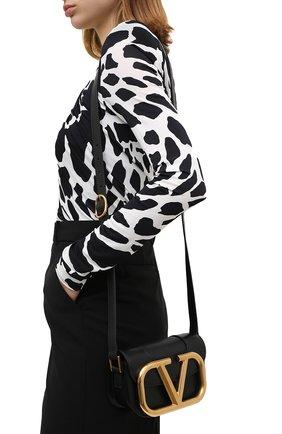 Женская сумка valentino garavani supervee VALENTINO черного цвета, арт. UW0B0G45/ZXL | Фото 2