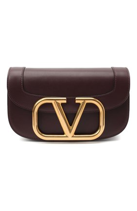 Женская сумка valentino garavani supervee VALENTINO бордового цвета, арт. UW0B0G09/ZXL | Фото 1