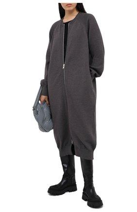 Женский кардиган Y`S серого цвета, арт. YB-K90-945   Фото 2