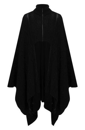Женский шерстяной кардиган Y`S черного цвета, арт. YB-K71-146 | Фото 1