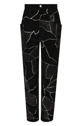 Женские кожаные брюки ISABEL MARANT черного цвета, арт. PA1815-20H049I/MAEK0 | Фото 1