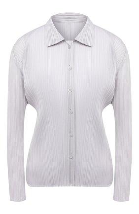 Женская рубашка ISSEY MIYAKE светло-серого цвета, арт. PP08-JJ105   Фото 1