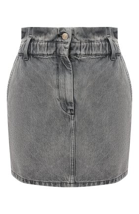 Женская джинсовая юбка IRO серого цвета, арт. WM31SAHEL | Фото 1