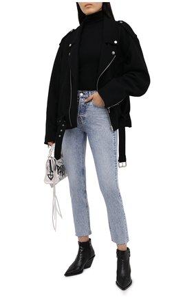 Женские джинсы IRO голубого цвета, арт. WM22ASKI0   Фото 2