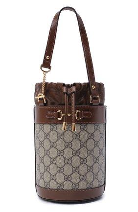 Женская сумка 1955 horsebit GUCCI коричневого цвета, арт. 637115/92TPG | Фото 1