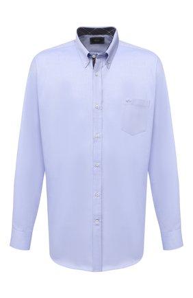 Мужская хлопковая сорочка PAUL&SHARK голубого цвета, арт. I20P3011/C00/48-50   Фото 1