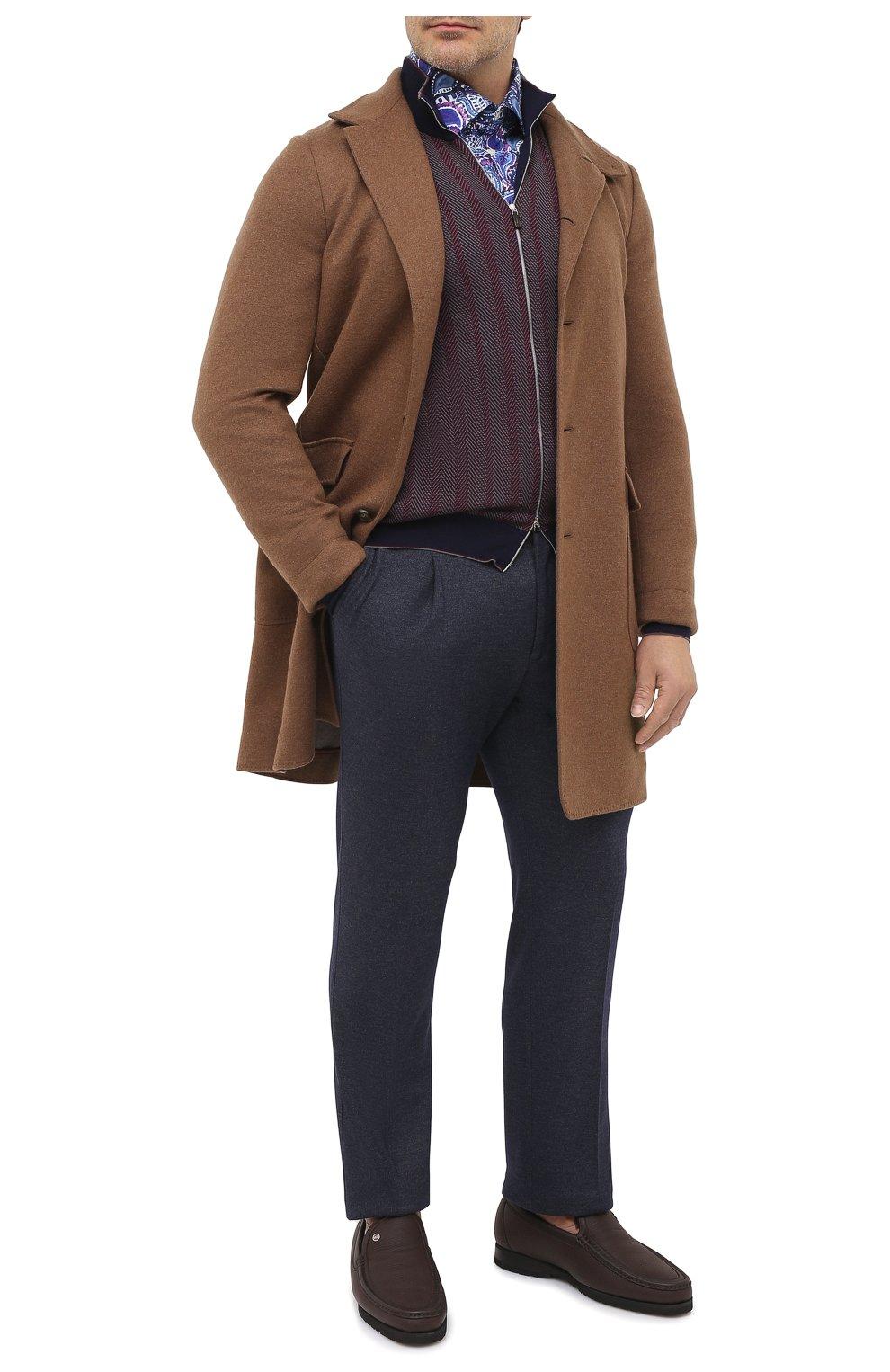Мужская хлопковая рубашка ETON синего цвета, арт. 1000 01440 | Фото 2