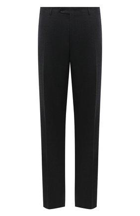 Мужские шерстяные брюки CANALI темно-серого цвета, арт. 71012/AN00019/60-64 | Фото 1