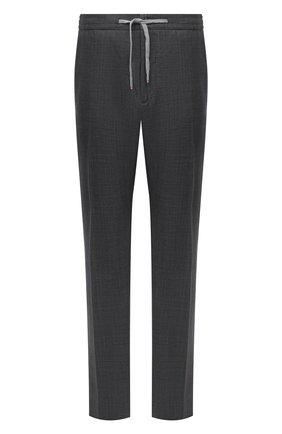 Мужской шерстяные брюки MARCO PESCAROLO серого цвета, арт. CARACCI0L0/4231 | Фото 1