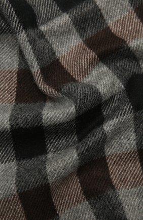 Мужской кашемировый шарф ANDREA CAMPAGNA темно-серого цвета, арт. 632349/SCARF | Фото 2