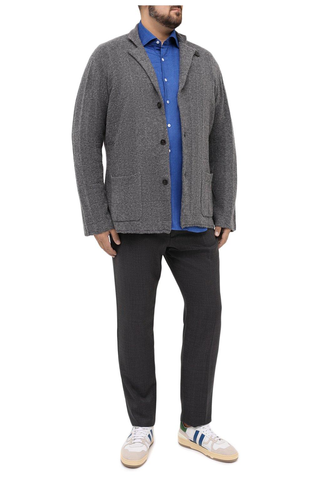 Мужская рубашка SONRISA голубого цвета, арт. IL7/L1403/47-51 | Фото 2