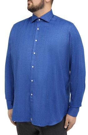 Мужская рубашка SONRISA голубого цвета, арт. IL7/L1403/47-51 | Фото 3