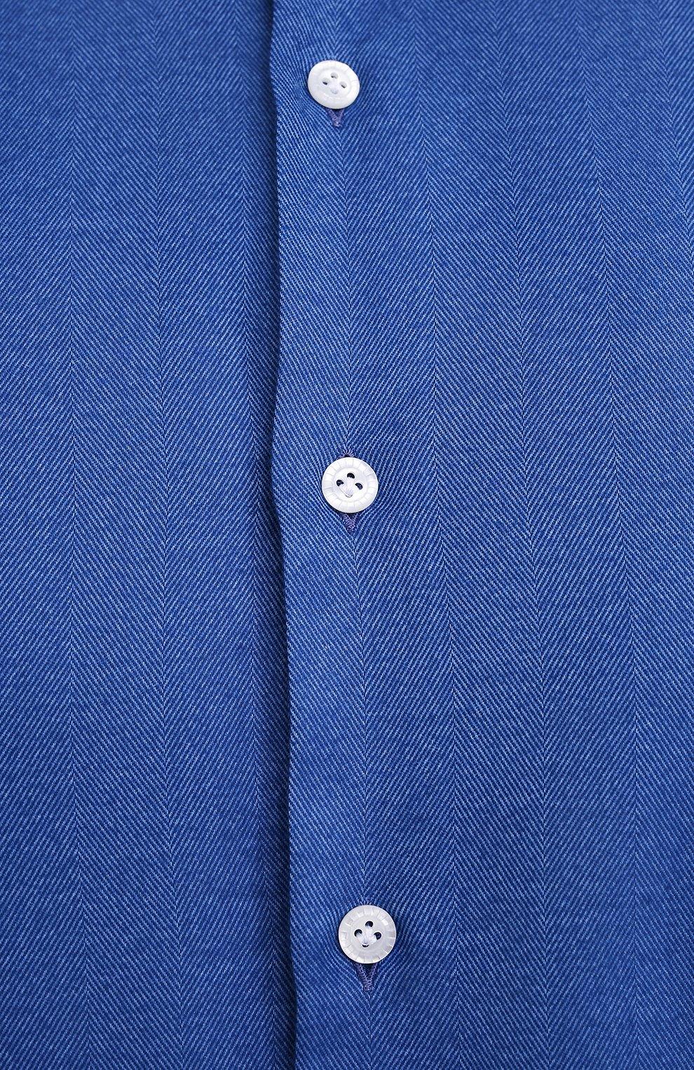 Мужская рубашка SONRISA голубого цвета, арт. IL7/L1403/47-51 | Фото 5