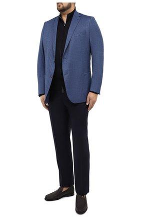 Мужской шерстяной пиджак EDUARD DRESSLER синего цвета, арт. 6461/26006 | Фото 2