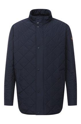 Мужская утепленная куртка PAUL&SHARK темно-синего цвета, арт. I20P2272/DF/3XL-6XL | Фото 1