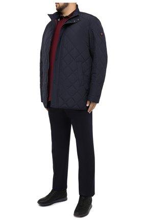 Мужская утепленная куртка PAUL&SHARK темно-синего цвета, арт. I20P2272/DF/3XL-6XL | Фото 2